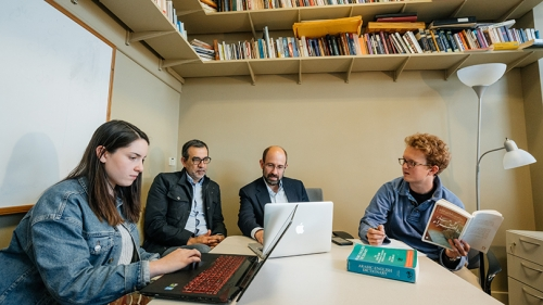 Two Students Help Translate Novel From Arabic Into English