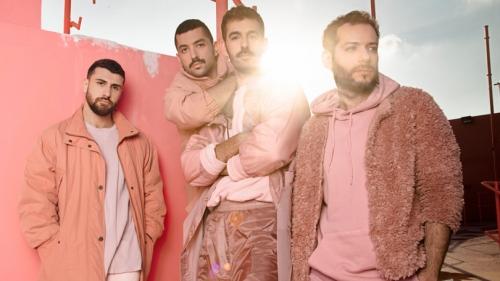 Photo of the Lebanese rock band Mashrou' Leila